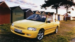 The Ford Escort Cabriolet