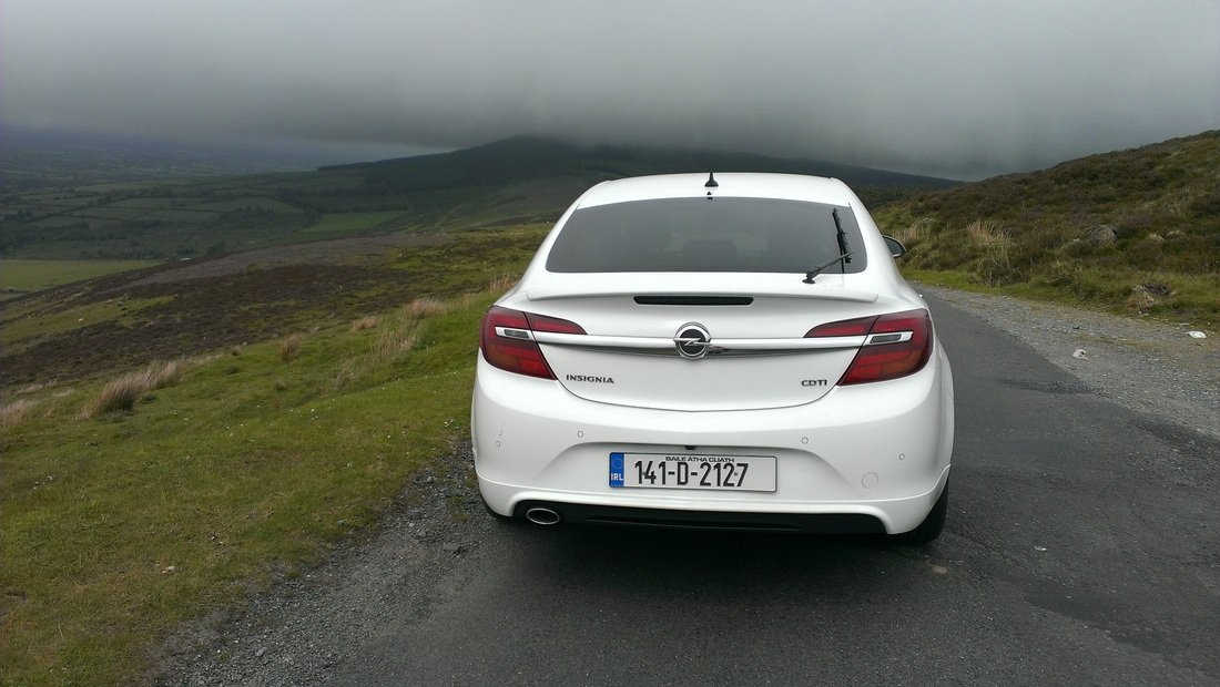 The 2014 Opel Insignia SRi on test for Changing Lanes!