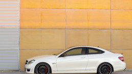 The Mercedes-Benz C 63 AMG Coupé would be an amazing c=holiday car rental!