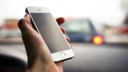 Smartphones can quickly lead to distracted driving