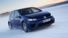 The fast and capable Volkswagen Golf R