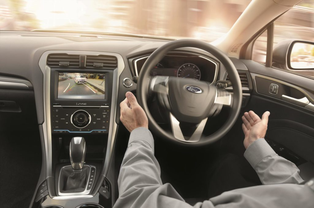 The interior of the 2015 Ford Mondeo Estate