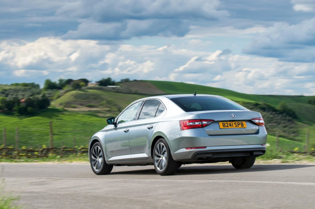 The 2015 Skoda Superb is also a popular used car buy