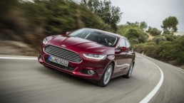 The 2015 Ford Mondeo