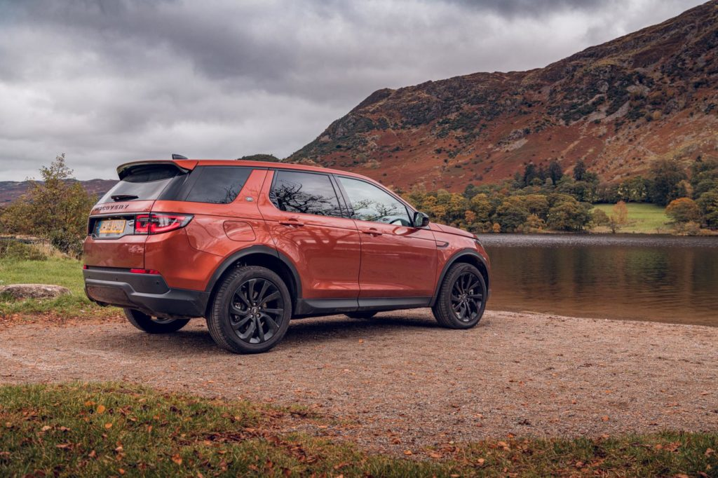 The Discovery Sport makes a great family SUV