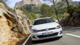 The Volkswagen Golf GTE plug-in hybrid