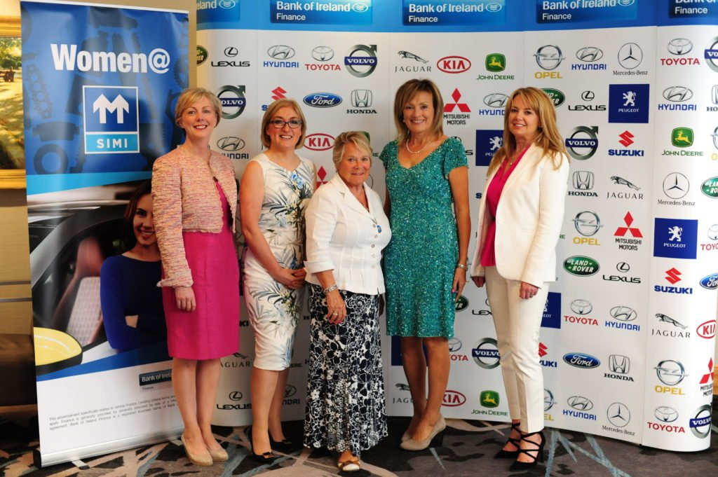 Gillian Fanning (right) at the annual Women@SIMI event to help support and connect women working in the motor industry in Ireland