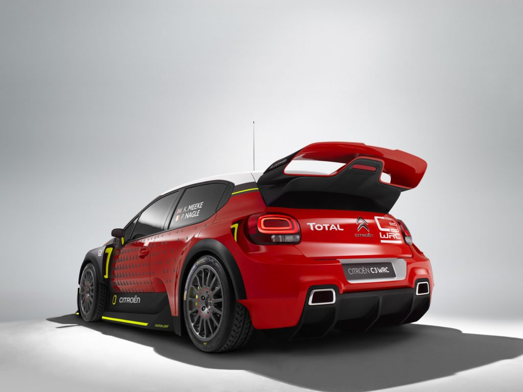 Citroen C3 WRC concept car