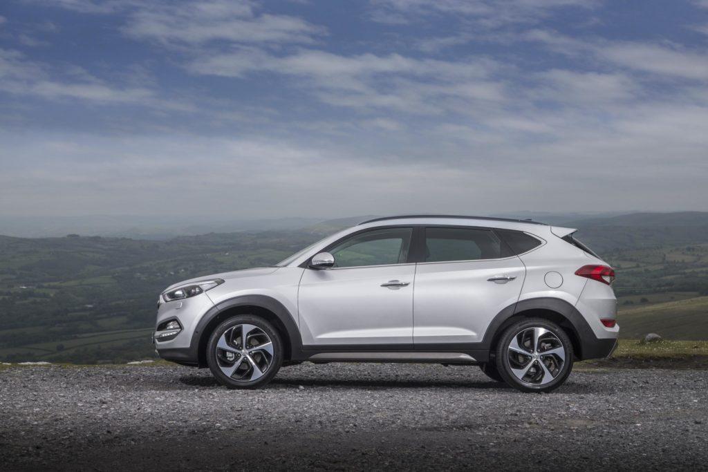 Hyundai Tucson ireland's bestselling car