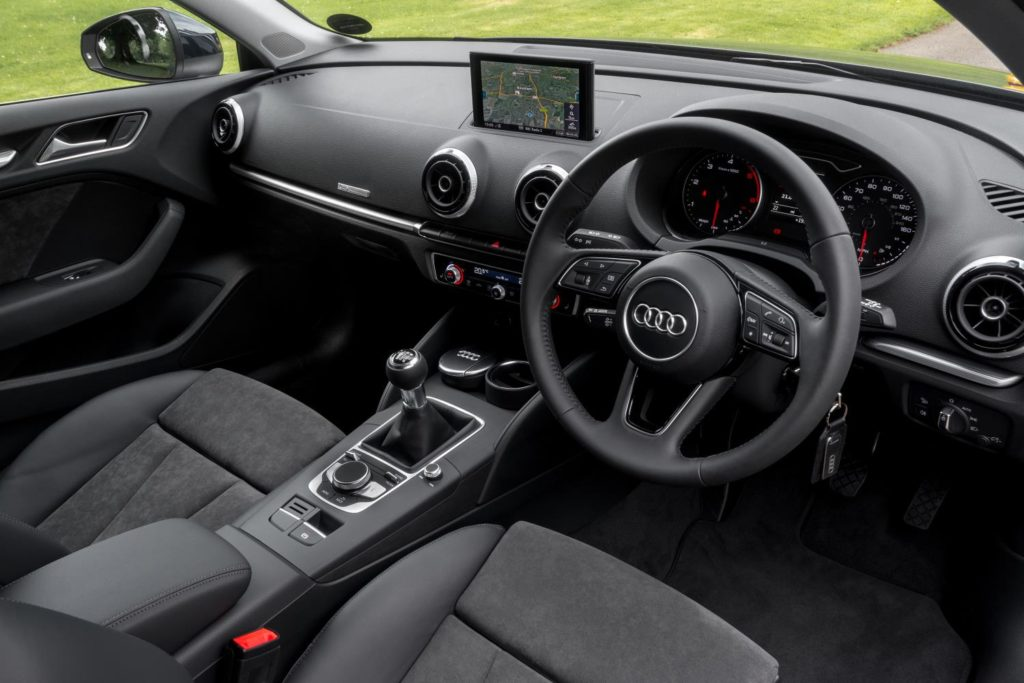 The stunning interior of the 2017 Audi A3 Sportback