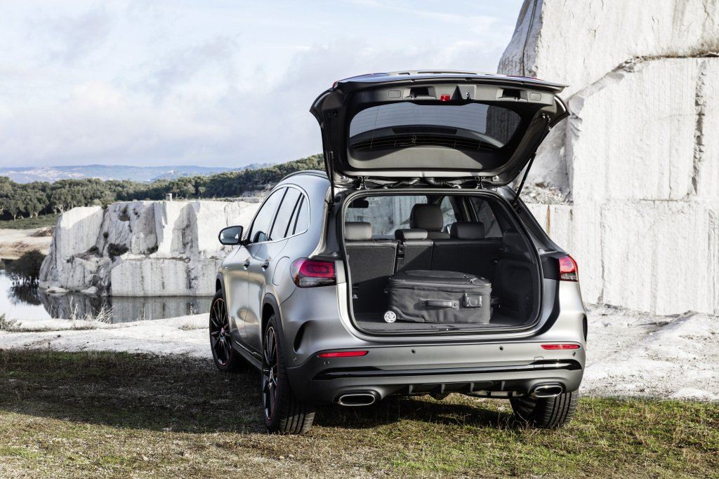 SUVs have large square boots ideal for loading lots of gear