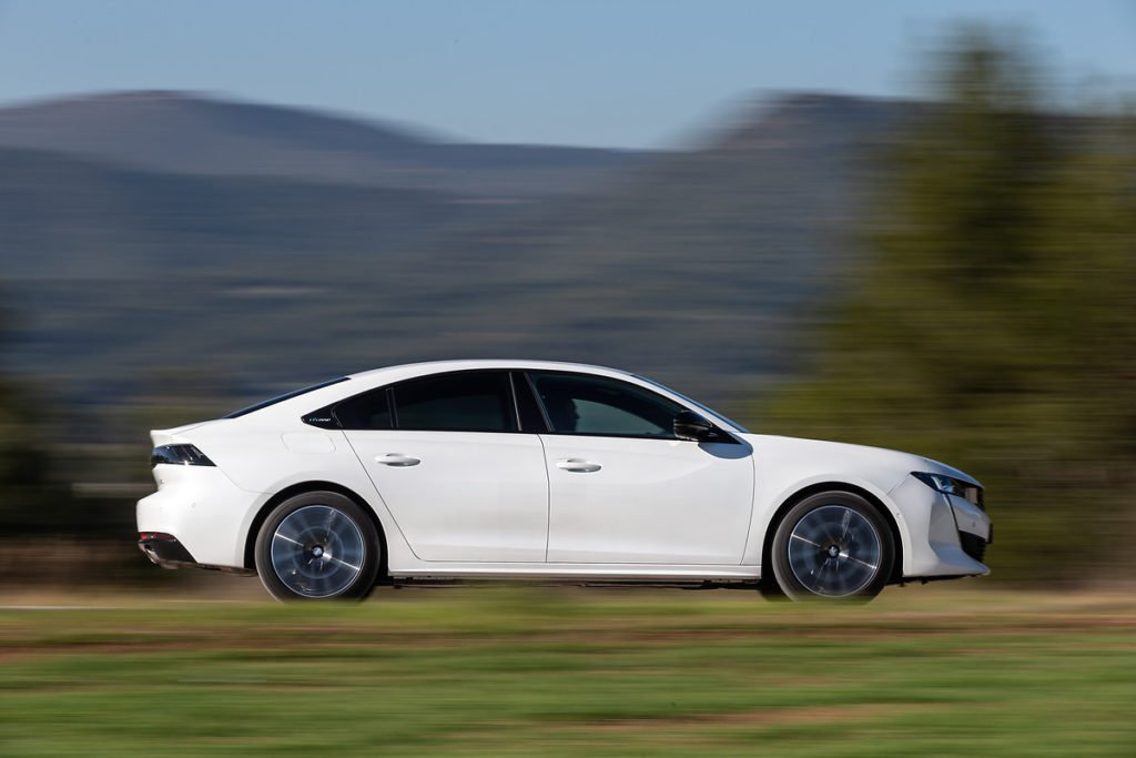 The new Peugeot 508 is actually a hatchback designed to look like an elegant saloon!