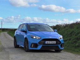 The 2016 Ford Focus on test for Changing Lanes!