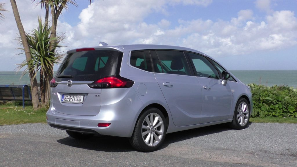 Opel Zafira Tourer Review Ireland