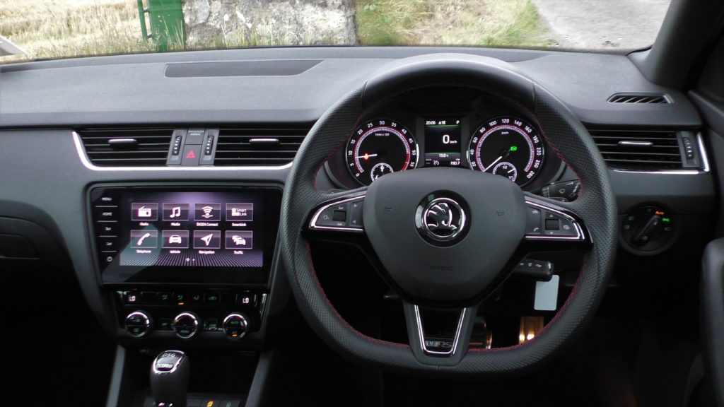 2017 Skoda Octavia RS TDI review ireland