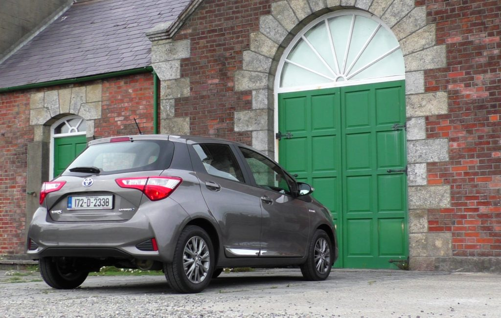 2017 Toyota Yaris review ireland