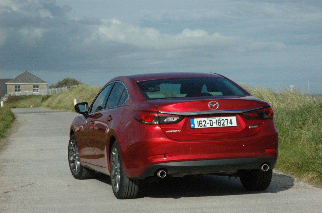 2017 Mazda6 review ireland