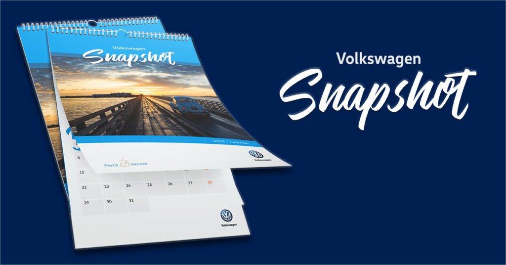 Volkswagen Snapshots calendar