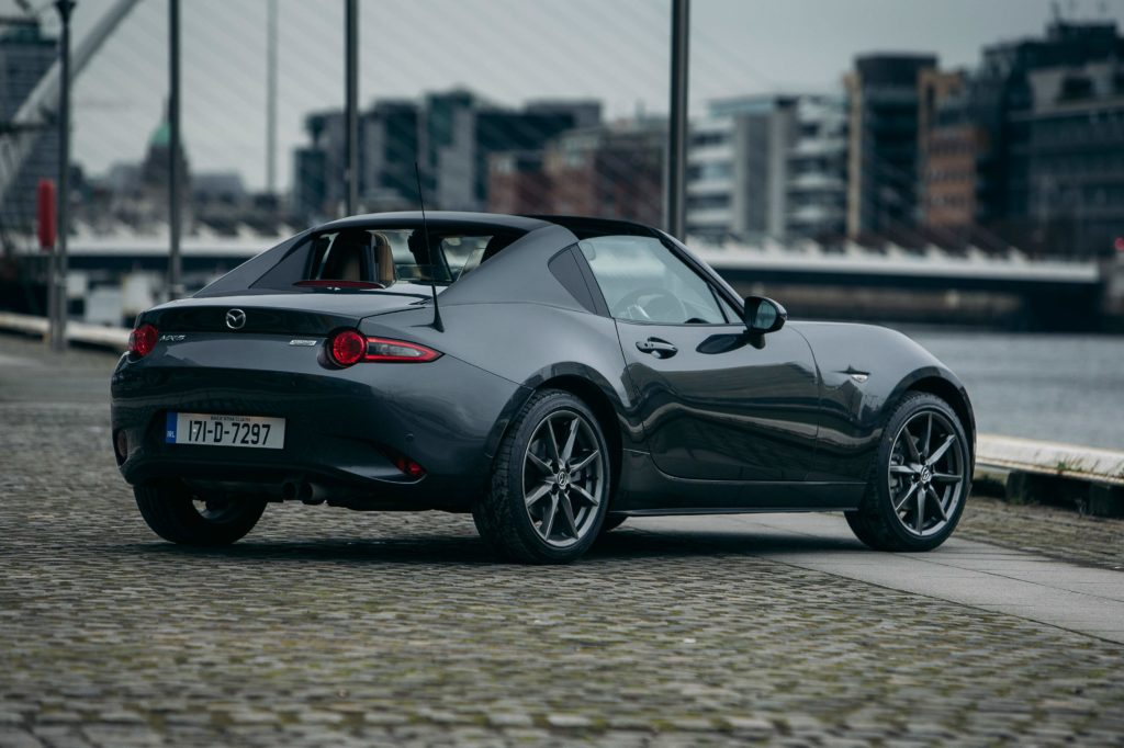 mazda mx 5 rf review changing lanes