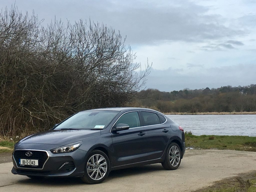 The new Hyundai i30 Fastback that arrived in Ireland at the beginning of 2018