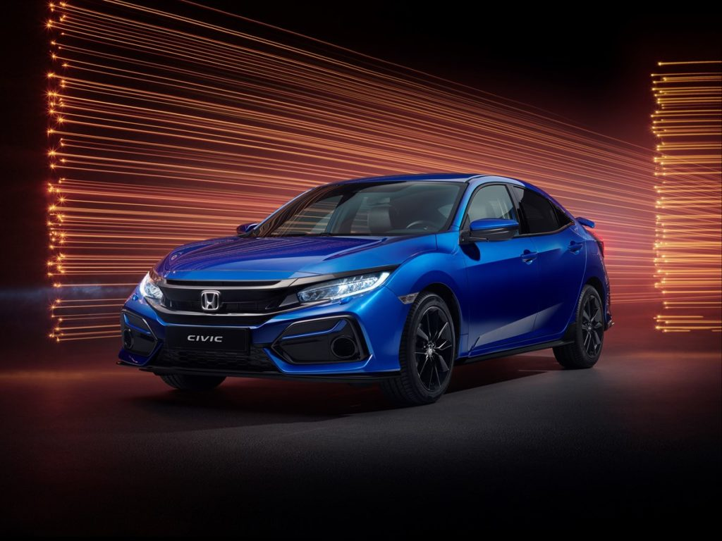 The Honda Civic Hatchback is available from €24,250