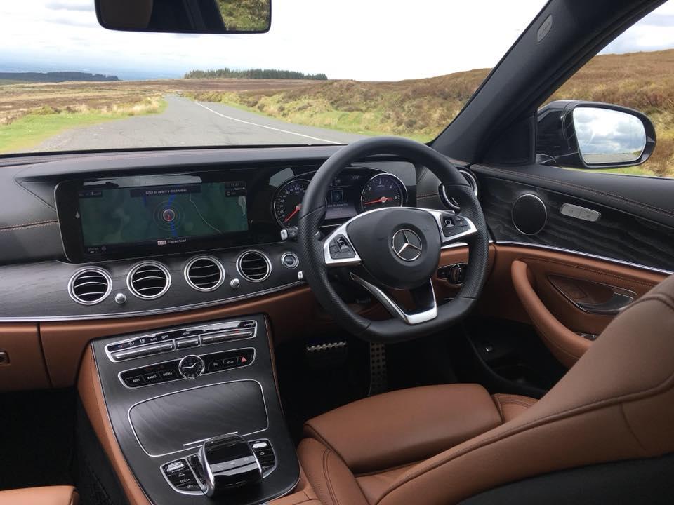 Interior of the Mercedes-Benz E-Class