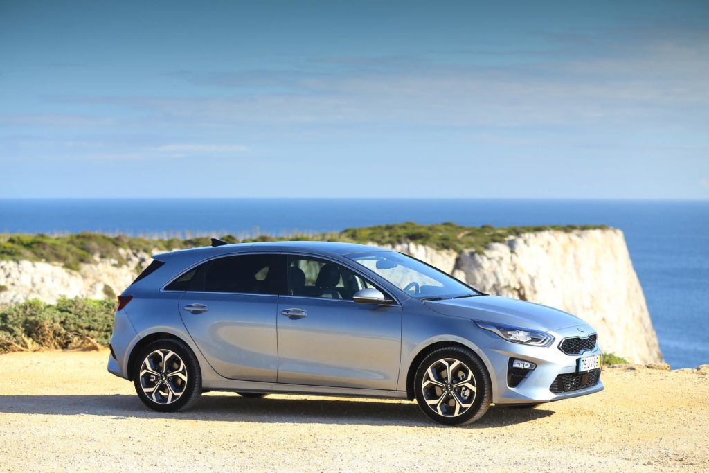 The new Kia Ceed, arriving in Ireland in August