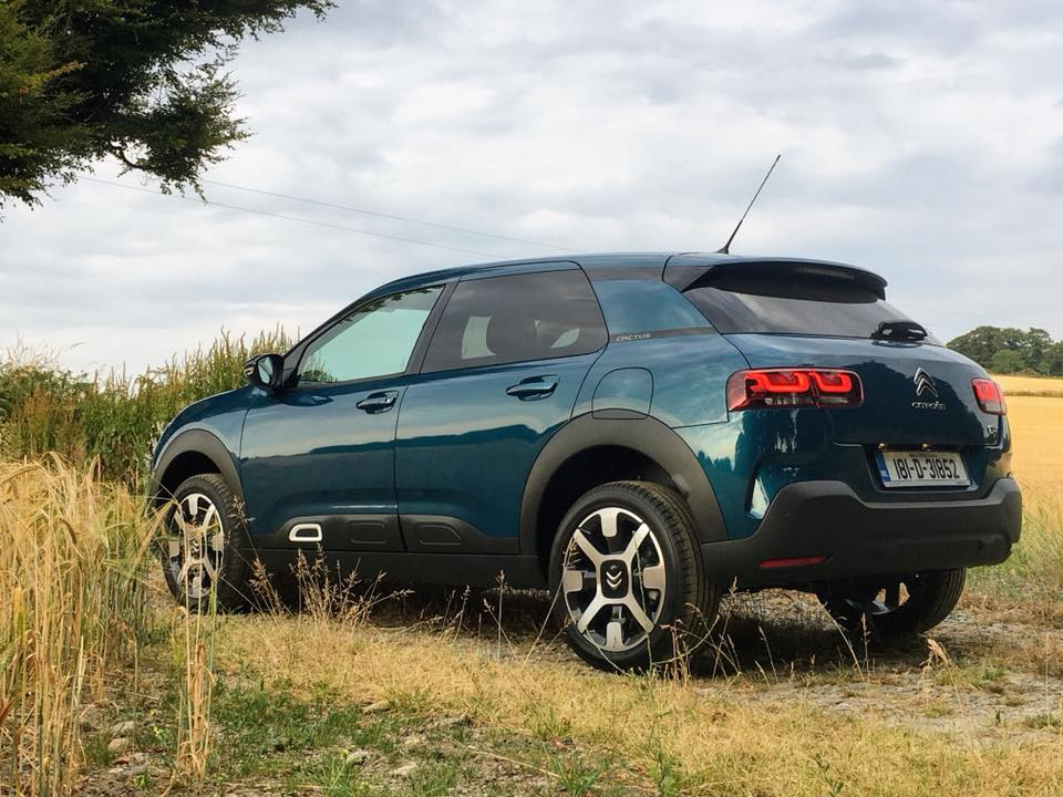 The Citroen C4 Cactus range starts from €19,995 in Ireland