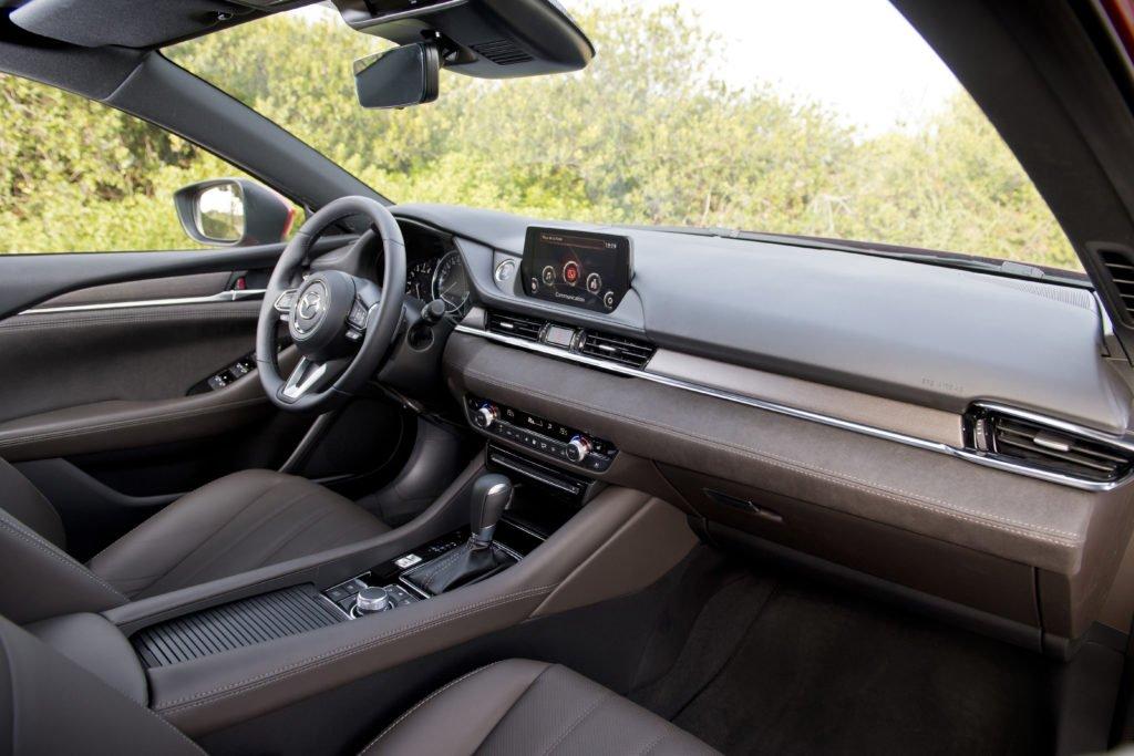The interior of the 2018 Mazda6