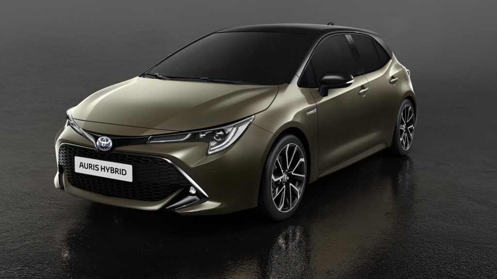 The new Toyota Auris Hybrid
