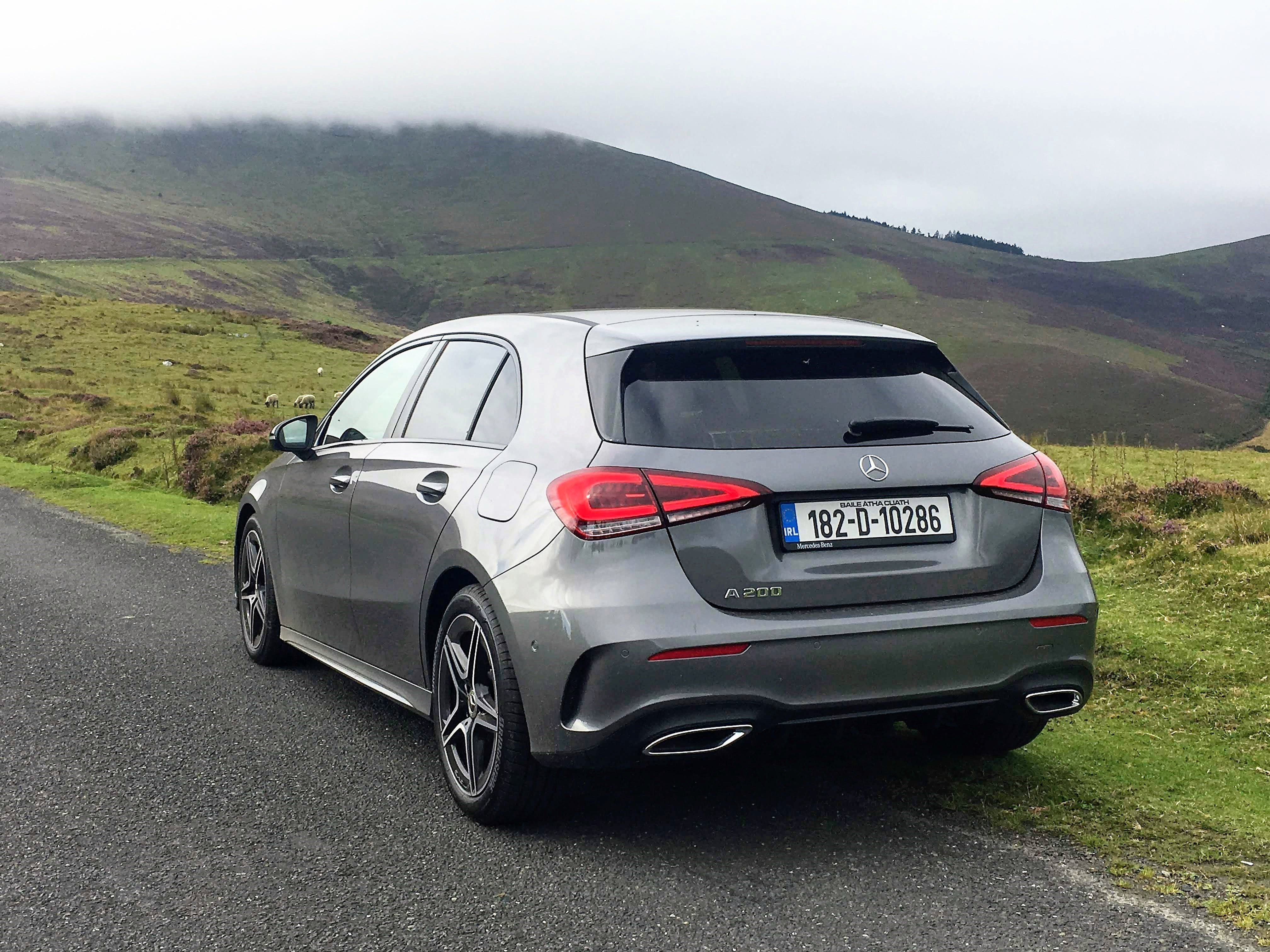 The Mercedes-Benz A-Class range starts from €31,600 in Ireland
