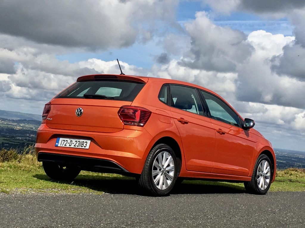 The Volkswagen Polo starts from €16,795 in Ireland