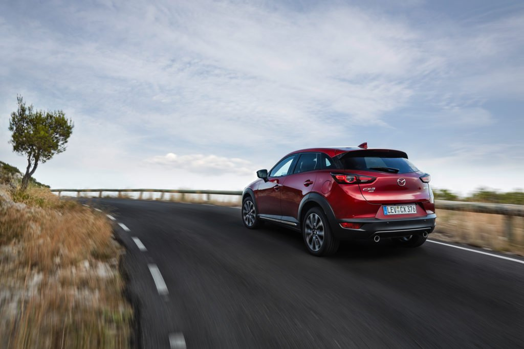 The updated Mazda CX-3 will go on sale in Ireland in October
