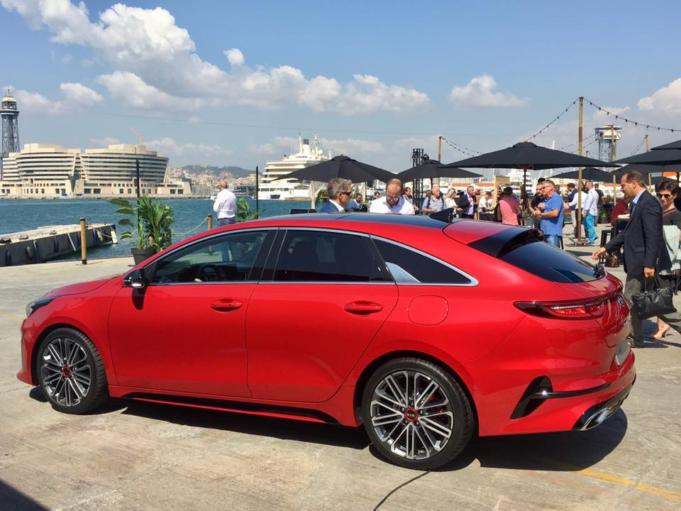 The Kia ProCeed combines the style of a coupé with the space of an estate