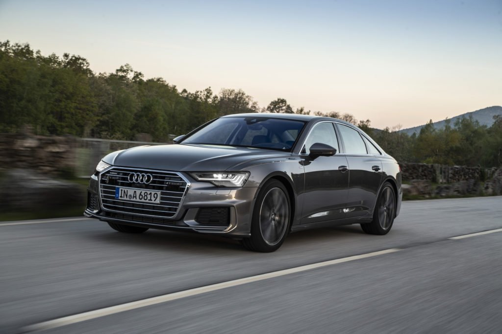 The new Audi A6 saloon
