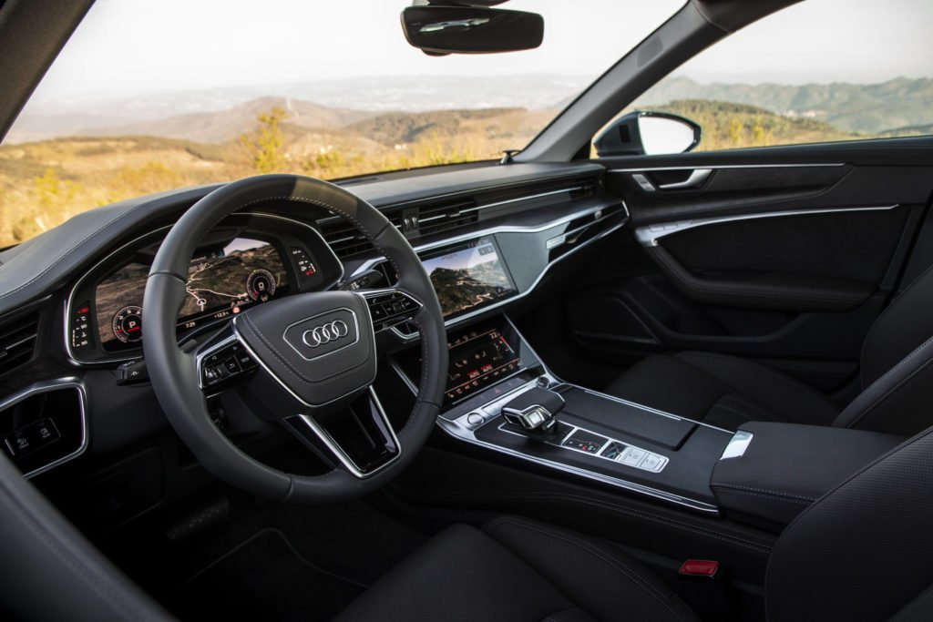 The interior of the new Audi A6