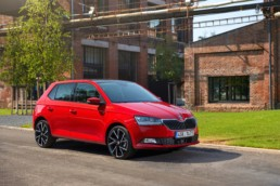 The revised Skoda Fabia