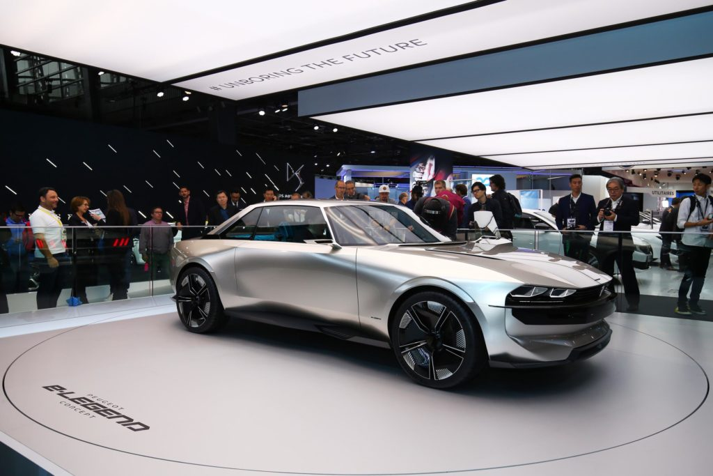 The Peugeot e-LEGEND Concept was a stand out car from this year's show