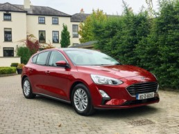 The new Ford Focus is selling well in Ireland