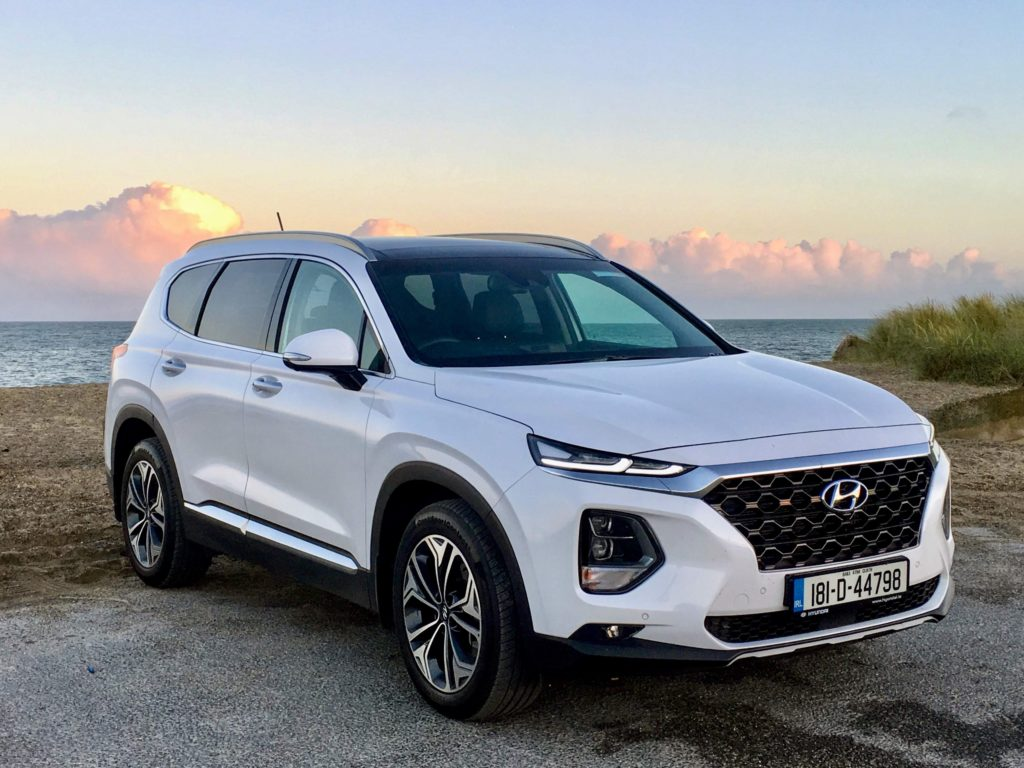 The new Hyundai Santa Fe is on sale in Ireland from €41,995