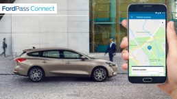 The new Ford Focus is the first Ford vehicle in Ireland to feature FordPass Connect