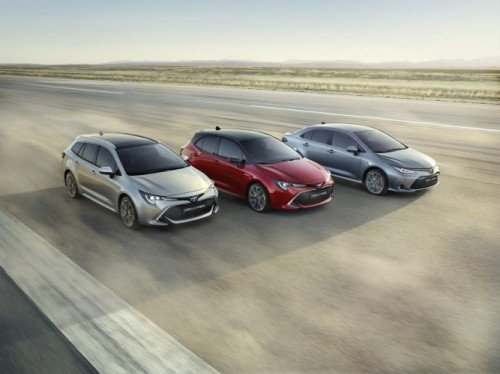 The new Toyota Corolla range for 2019