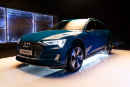 The new Audi e-tron will officially go on sale in Ireland in January