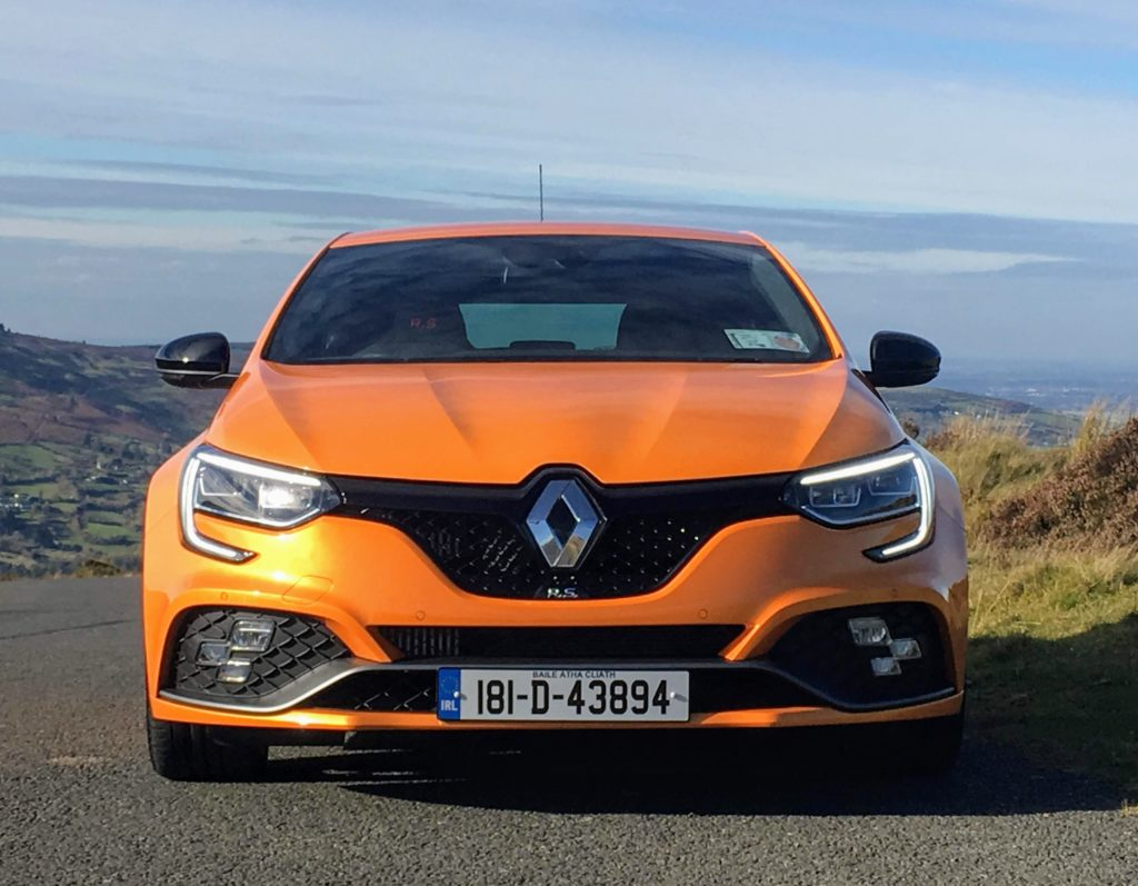 The new Renault Mégane R.S. loud and proud in signature Volcanic Orange