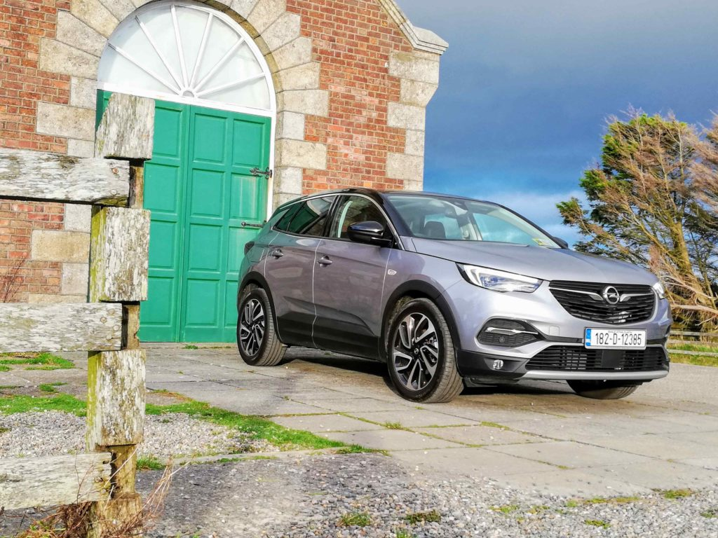 The new Opel Grandland X Ultimate