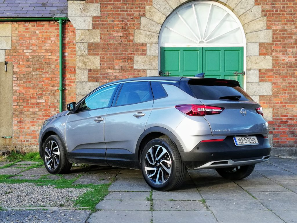 The Opel Grandland X Ultimate is powered by a strong 2.0-litre diesel engine