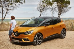 Details announced of new 2019 Renault Scénic range