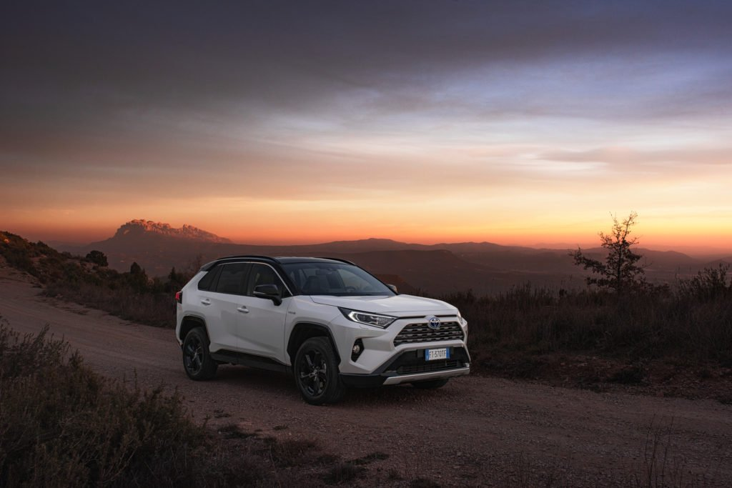 The 2019 Toyota RAV4 is built on a new platform and uses a 2.5-litre self charging hybrid powertrain