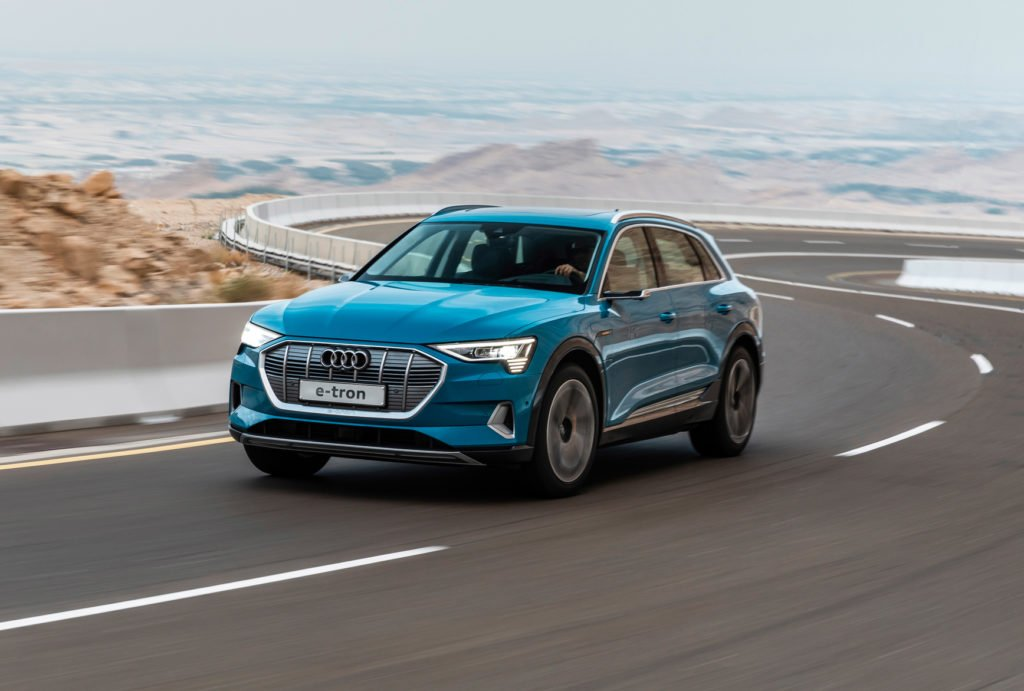 The new Audi e-tron is now in Ireland