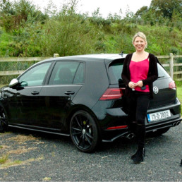 Caroline-and-the-Volkswagen-Golf-R